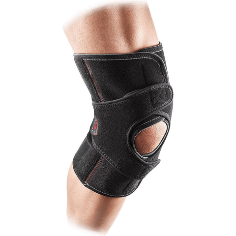 Mcdavid Vow™ Knee Support Wrap With Stays [4201] Black