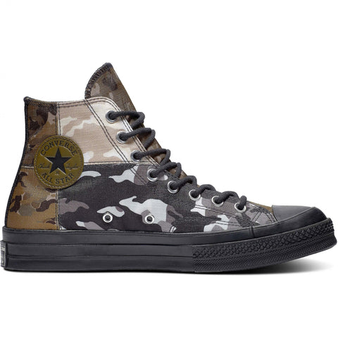 Converse Chuck 70 Blocked Camo Surplus Olive/Black