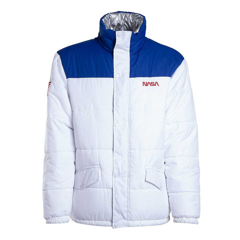 K1X Nasa Rev Puff Jacket White