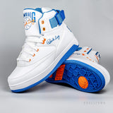 Ewing Athletics 33Hi Orion Knicks White/Princess Blue/Vibrant Orange