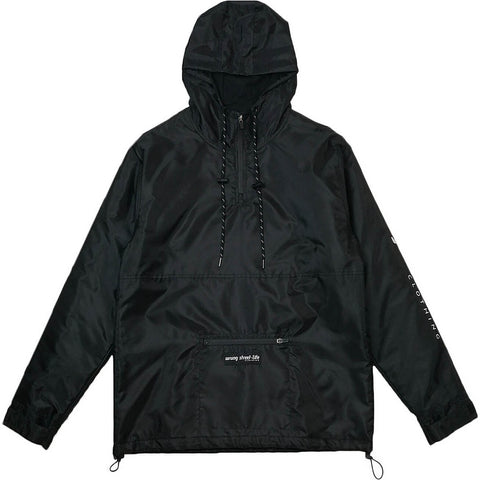 Wrung Lemar Windbreaker Black