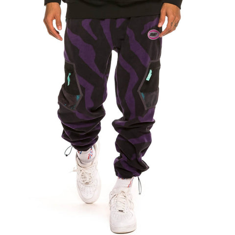 Grimey Wear Grmy Mysterious Vibes Polar Fleece Pants Black