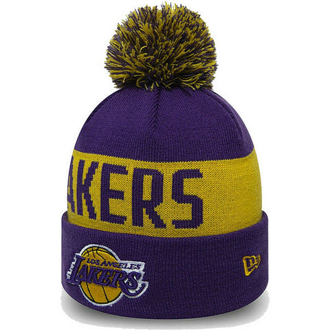 NEW ERA čiapka NBA Team tonal knit kids LOSLAK LOS ANGELES LAKERS