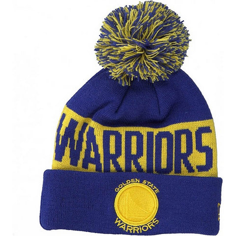 NEW ERA čiapka NBA Team tonal knit kids GOLWAR GOLDEN STATE WARRIORS