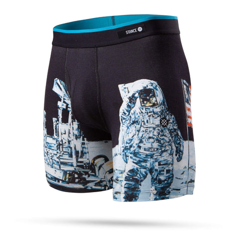 Stance Boxer Moon Man Black