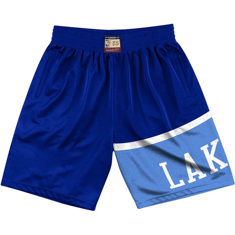 Mitchell & Ness Nba Team Heritage Shorts Los Angeles Lakers 1959-60 Royal