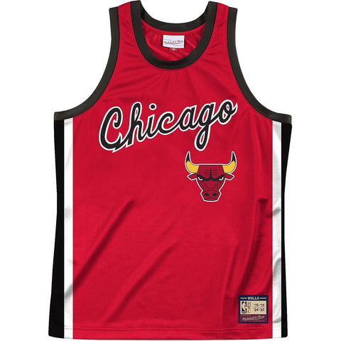 Mitchell & Ness Nba Team Heritage Tank Chicago Bulls 1975-84 Raptors Red