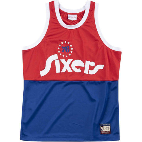 Mitchell & Ness Nba Team Heritage Tank Philadelphia 76Ers 1965-71 Raptors Red
