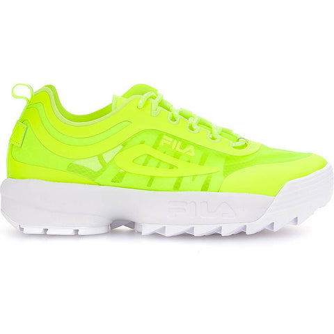 Fila Heritage Disruptor Run Neon Lime