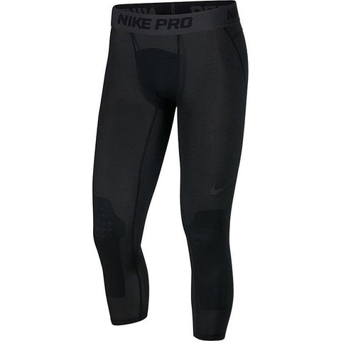 Nike Pro Men'S 3/4 Basketball Tights Black/Black
