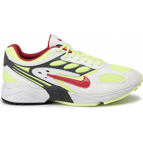 Nike Air Ghost Racer White/Atom Red/Neon Yellow