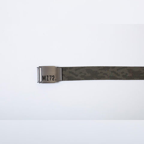MZ72 Belt-Pixel Tropical Green