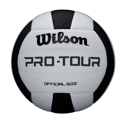Wilson Pro Tour Vb Blkwh Official Size