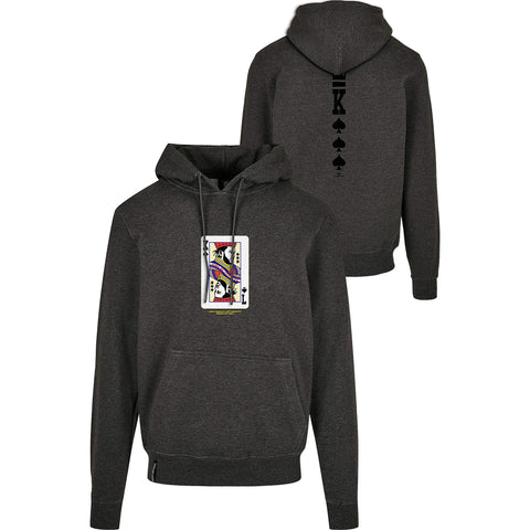 Cayler & Sons Wl Compton Card Hoody Charcoal/Mc