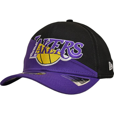 New Era Šiltovka 950K Stretch Snap Nba Tm Split Kids Loslak Los Angeles Lakers Black/Purple