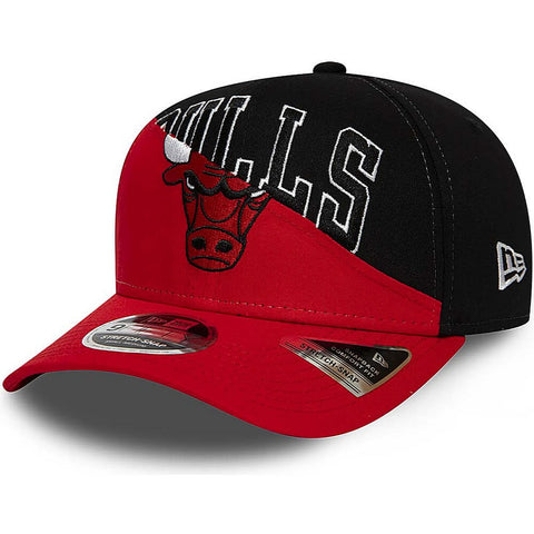New Era Šiltovka 950K Stretch Snap Nba Tm Split Kids Chibul Chicago Bulls Black/Red