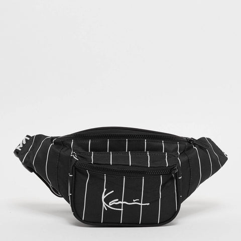 Karl Kani Signature Tape Waist Bag Black