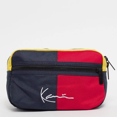 Karl Kani Signature Block Hip Bag Navy
