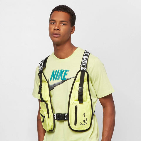 Karl Kani Tape Utility Vest Bag Yellow