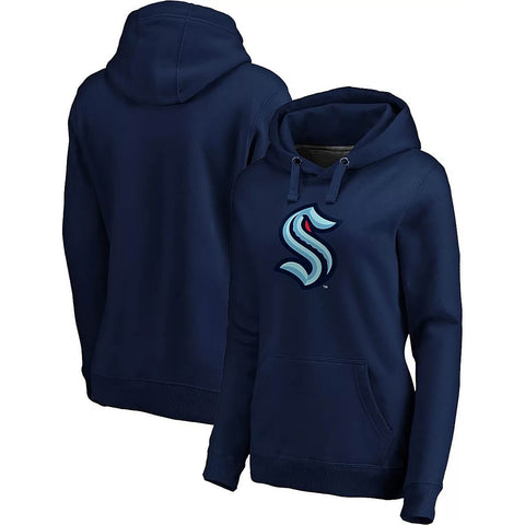 Fanatics Seattle Kraken Primary Hoodie Navy