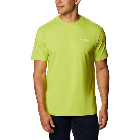Columbia North Cascades Short Sleeve Bright Chartreuse