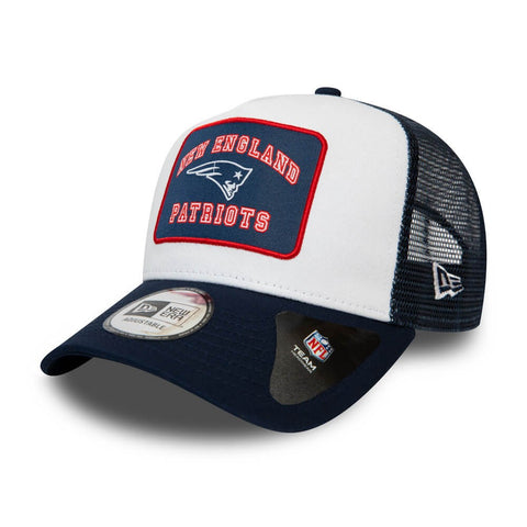 New Era Šiltovka 940 Af Trucker Nfl Graphic Patch New England Patriots White