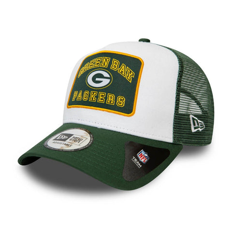 New Era Šiltovka 940 Af Trucker Nfl Graphic Patch Green Bay Packers White