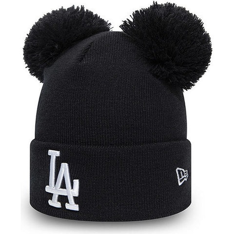 New Era Čiapka Mlb Wmns League Essential Double Bobble Los Angeles Dodgers Nvy