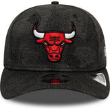 New Era Šiltovka 950 Stretch Snap Nba Engineered Fit Chicago Bulls Blk