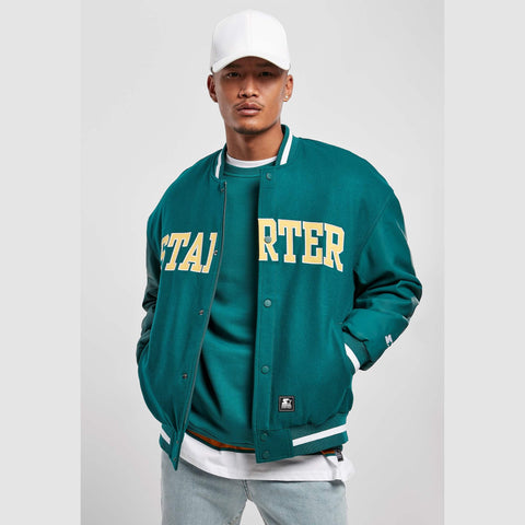 Starter Team Jacket Retro Green