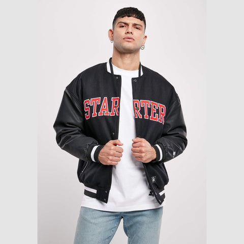 Starter Team Jacket Black