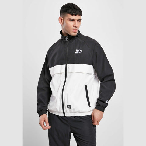 Starter Simple Jogging Jacket Black