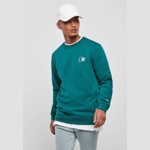 Starter Small Logo Crew Retro Green