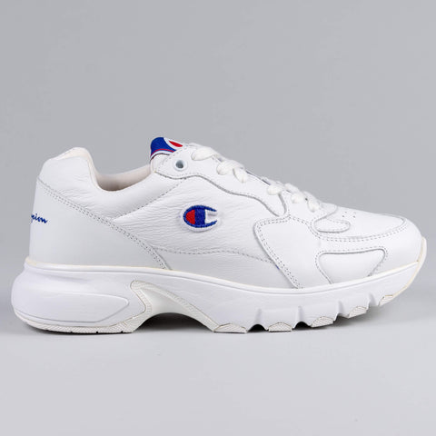 Champion Low Cut Shoe CWA-1 LEATHER White