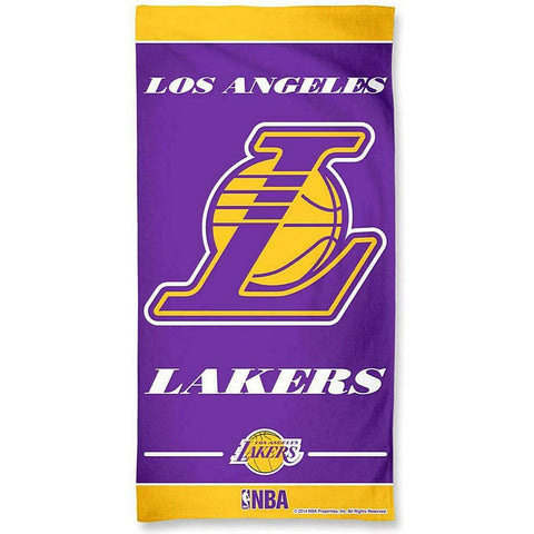 Wincraft Nba Fibre Beach Towel Los Angeles Lakers