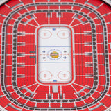Youthefan Nhl 3D Stadium Banner Chicago Blackhawks (15Cm X 48Cm)