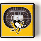 Youthefan Nhl 3D Stadiumview Magnet Pittsburgh Penguins (7Cm X 7Cm)