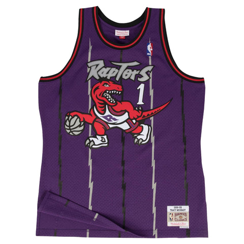 Mitchell & Ness Swingman Jersey Toronto Raptors Road 1998-99 Tracy Mcgrady Purple