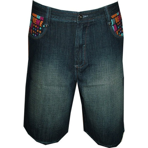 DADA SUPREME RAW INDIGO SHORT JEANS