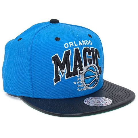 MITCHELL & NESS ORLANDO MAGIC LEATHER TEAM ARCH