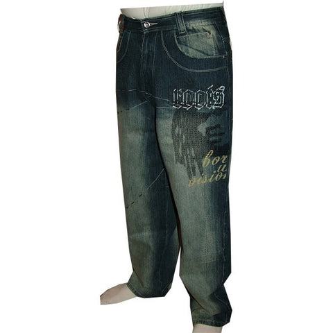 DADA SUPREME DARK WASH JEANS  DS4