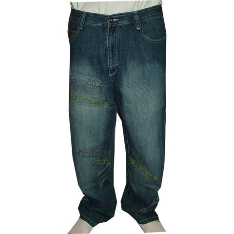 DADA SUPREME DARK OVERDYED JEANS