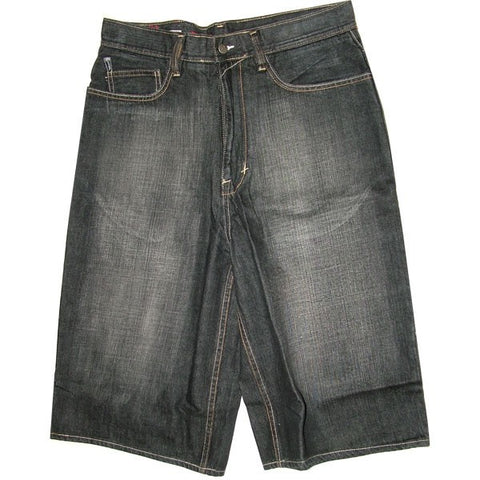 ECKO SHORT JEANS BLACK WASH