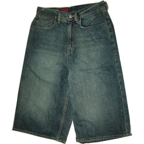 ECKO SHORT JEANS BLUE WASH