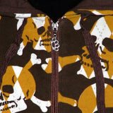 HOLLYWOOD CARTEL SKULLZ ZIP HOOD FLEECE