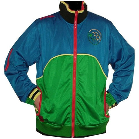 INFAMOUS BLACK SHEEP TRACK JACKET BLUE & GREEN
