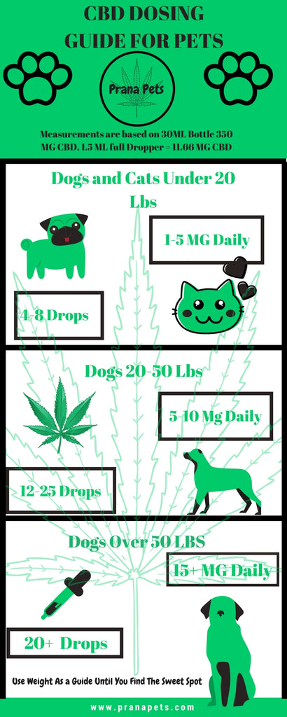 cbd dosing chart for pets
