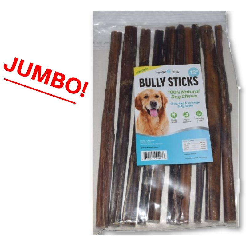 All Natural Bully Sticks 6 and 12 Inch