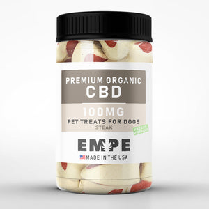 CBD Dog Treats - CBD Dog Steak Bites
