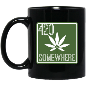 """420 Somewhere"" Mug"